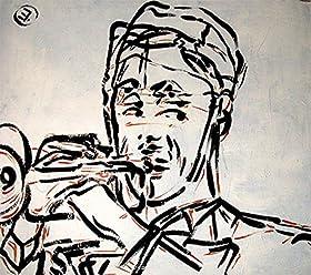 Trumpet stampa 50x70/ colori pop art cartoon by box21
