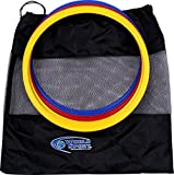World Sport Set of 12 12 Inch Speed Rings (4 Red/4 Yellow/4 Blue)