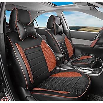 Amazon.com: AutoDecorun Dedicated Front & Rear Car Seat Cover Sets for Lexus NX CT200h RX350 ...
