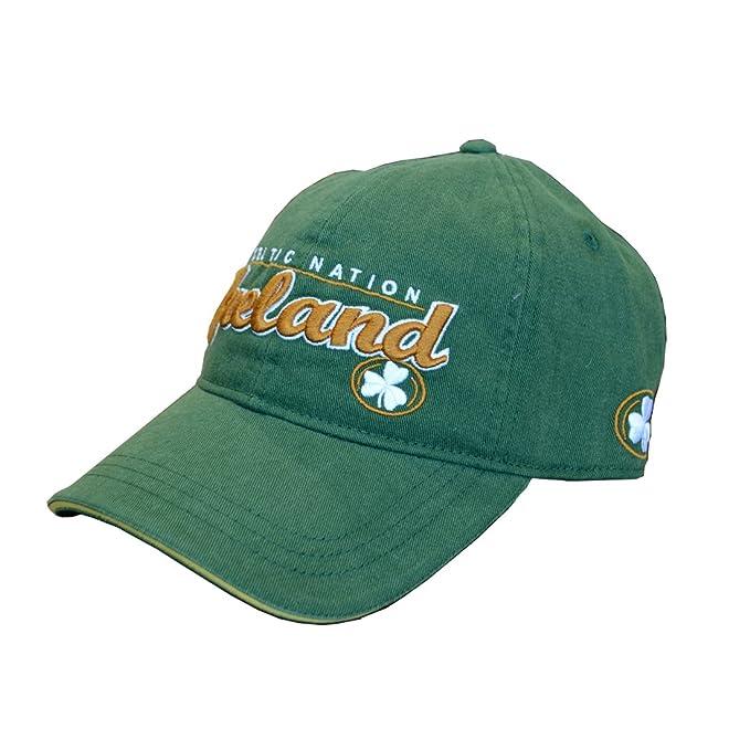 Amazon.com  Lansdowne Men s Irish Pride Baseball Cap 31e5f16e067