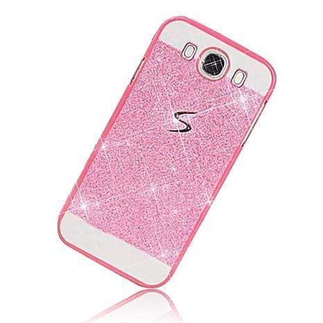 Sunroyal® para Samsung Galaxy J5 (2016) J5108 Funda Carcasa Bumper Duro PC Caja Premium Bling Lujo Hard Case Plástico Shell Slim Cover Protective Caso ...