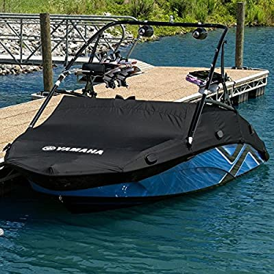 Yamaha New OEM AR240 Series Tower Sport Boat Cover Black MAR-240TR-BK-15