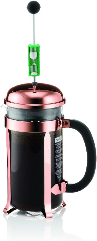 Bodum - K1928-18-1 - Chambord - Cafetera 8 tazas - 1.0 l + 2 vasos térmicos - 0.35 l: Amazon.es: Hogar