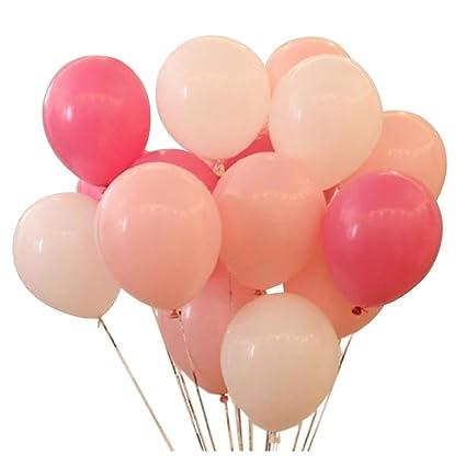 amazon com kadbaner latex balloon 100 pcs 12 inch white and