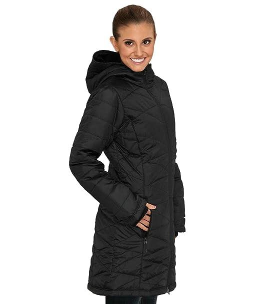 Columbia Mujer Luz de la mañana Omni calor largo abrigo chaqueta Puffer: Amazon.es: Deportes y aire libre