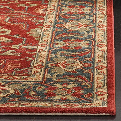 Safavieh Mahal Collection Mah697a Traditional Oriental Red
