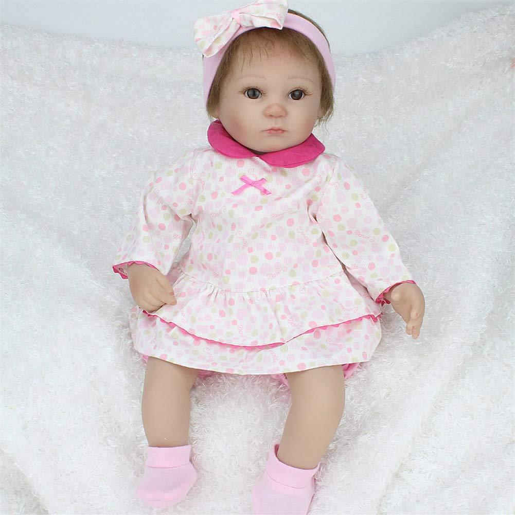 Barato CRYPIN - Muñeca de bebé con cuerpo de silicona