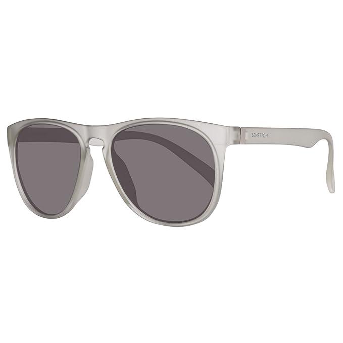 BENETTON BE953S02, Gafas de Sol para Hombre, Grey 55: Amazon ...