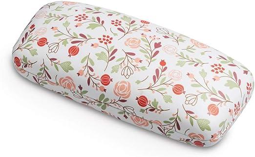 Balvi Estuche para Gafas Bloom Color Blanco Estuche rígido Estampado Metal: Amazon.es: Hogar