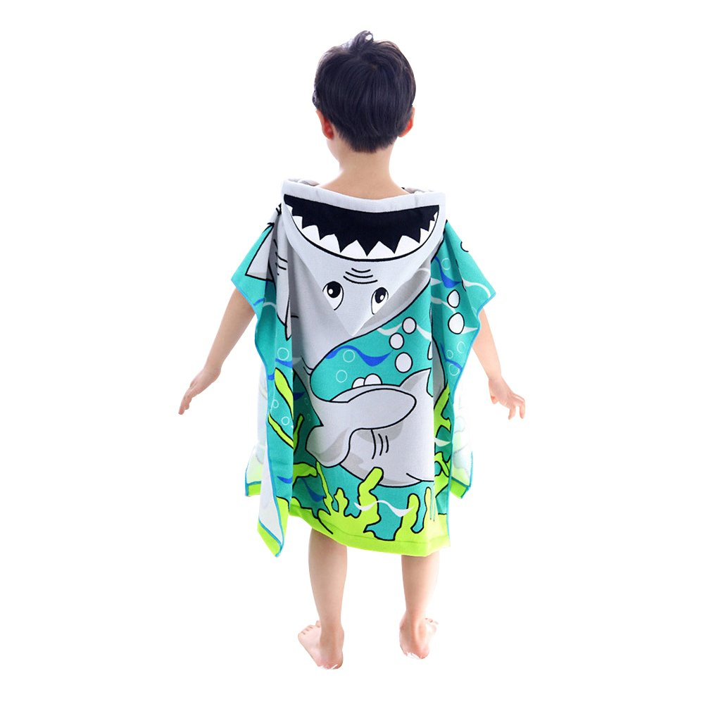 60 * 120 cm JYSP Baby Kinder Kapuzenhandtuch Atmungsaktiv Strand Poncho Badetuch Poncho f/ür Jungen und M/ädchen