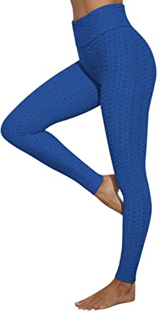 Voqeen Pantalones De Yoga De Cintura Alta para Mujer, Leggings Sexis Anticelulíticos para Levantamiento De Glúteos, Mallas Sexis para Control De Abdomen
