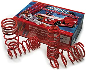 AUTOSTYLE 05106 Red lowering Springs Alfa Romeo Giulia (Automatic) 2.0T/2.2JTD (136HP/150HP/180HP) 6/2016-25/30mm