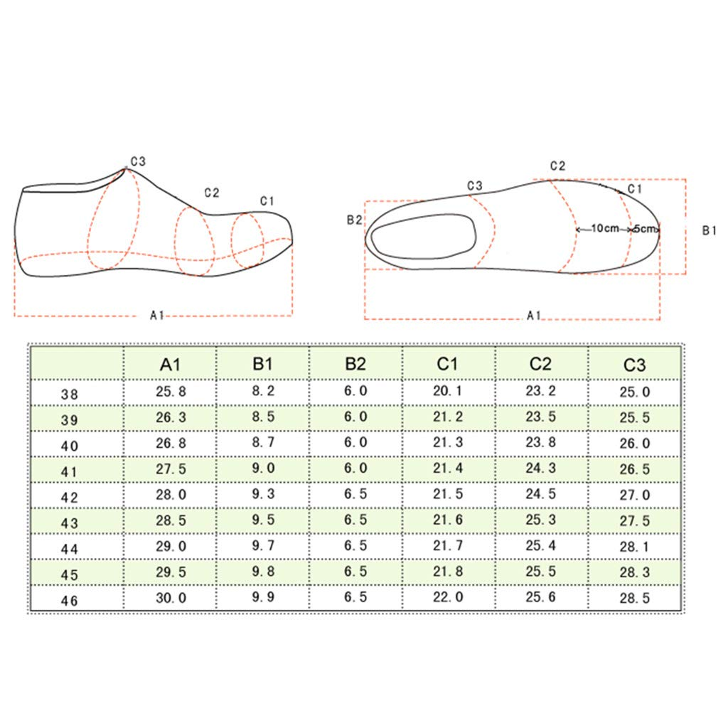 ChengxiO Round Head Leather Mens Shoes Leather Mens Shoes Spring and Summer Comfortable Business Shoes Suit Shoes Color : Brown, Size : 44