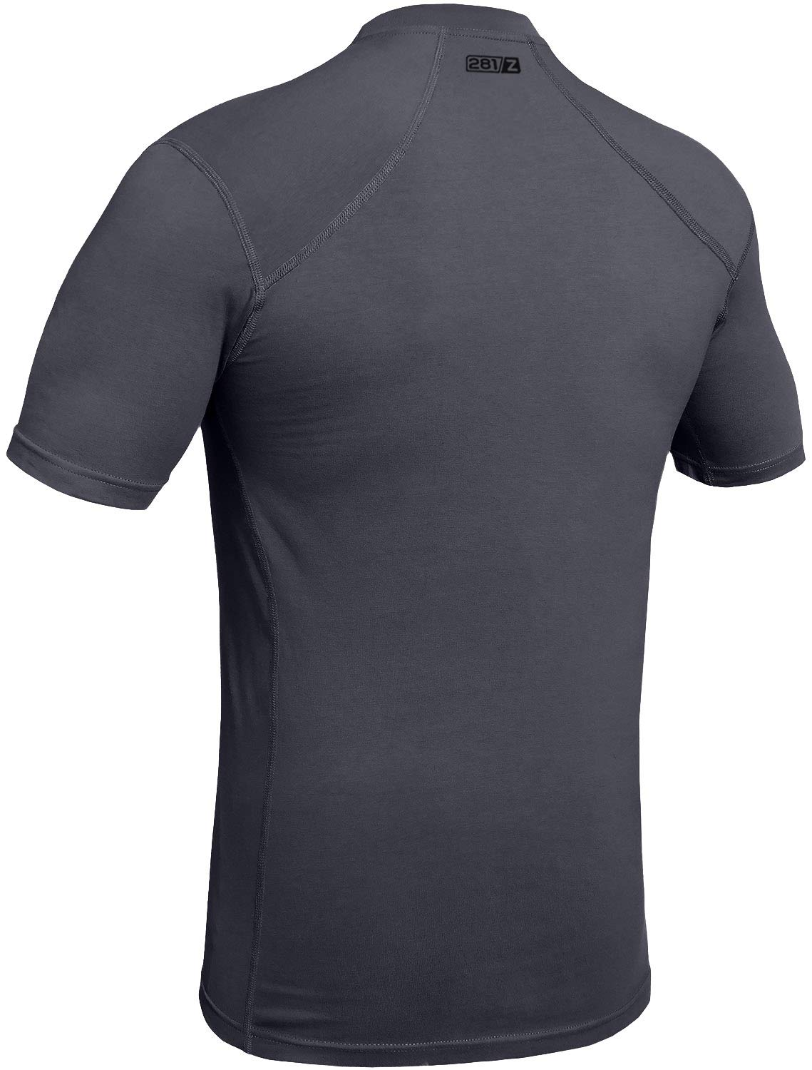 281Z Military Stretch Cotton Underwear T-Shirt - Tactical Hiking Outdoor - Punisher Combat Line (Graphite, Large) by 281Z (Image #2)