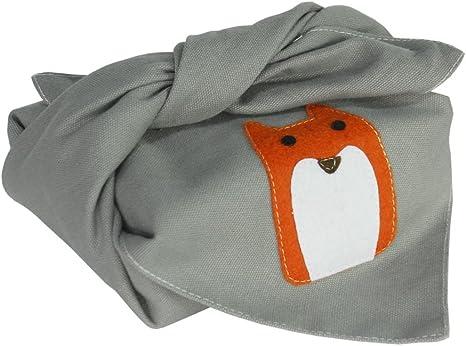 grey wrapping bento bag