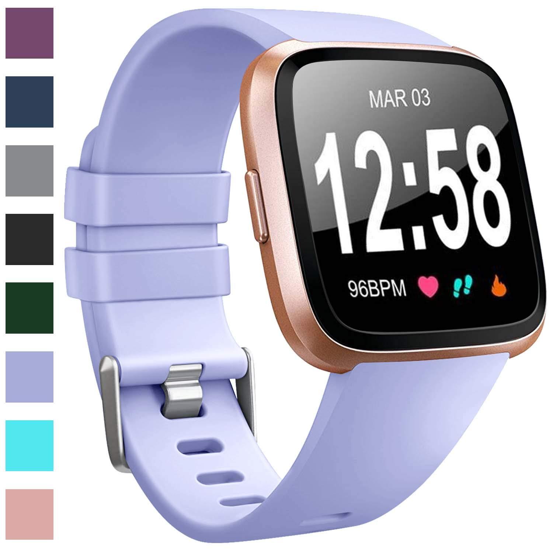 Malla de reloj Fitbit Versa (lila)