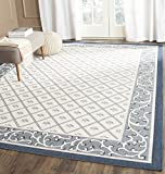 Safavieh Courtyard Collection CY7427-258A2 Beige and Navy Indoor/Outdoor Area Rug (8′ x 11′) Review