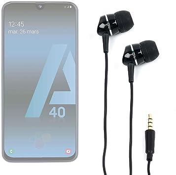 DURAGADGET Auriculares para Smartphone Samsung Galaxy A20, Samsung ...