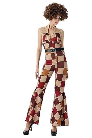 innovative design 8e5f5 a986b Amazon.com  Mens Womens Retro Vintage 70s Disco Sleaze Ball Costume   Clothing