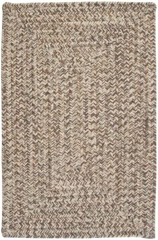 Corsica Rectangle Area Rug, 2 by 3-Feet, Storm Gray