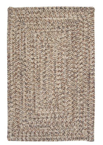 Corsica Rectangle Area Rug, 2 by 4-Feet, Storm Gray