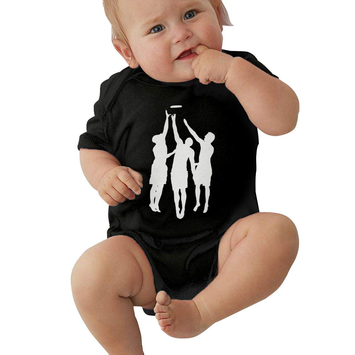 Toddler Baby Girl Boy Ultimate Frisbee3 OutfitsBodysuit Jumpsuit Short Sleeve Bodysuit Tops Clothes