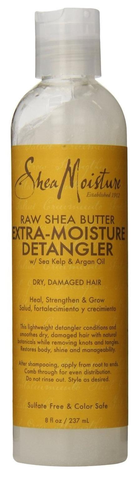 Shea Moisture Raw Shea Detangler 8 Ounce (235ml) (6 Pack) by Shea Moisture