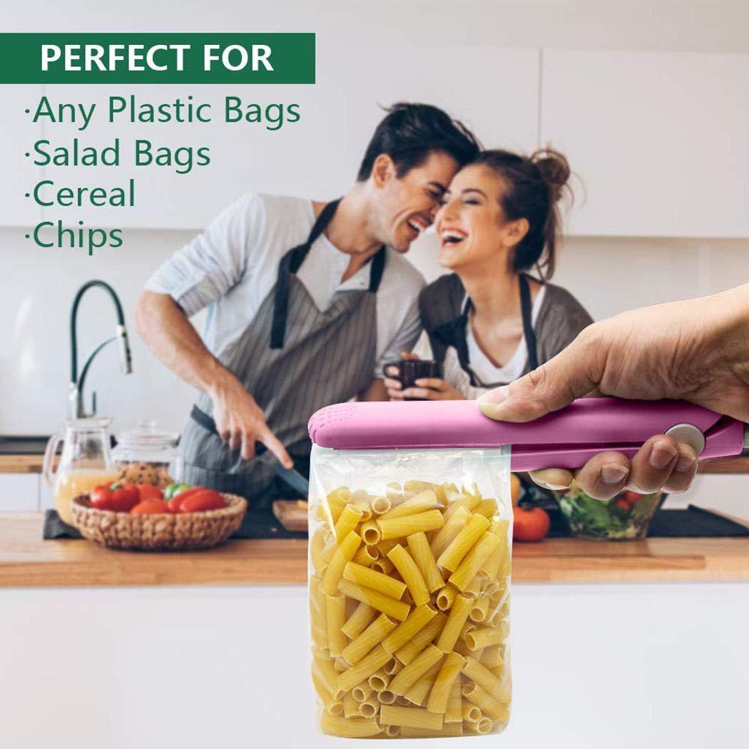 Piokikio Mini Portable Sealer Snack Packaging Bag Sealer Vacuum Sealers for Household Use