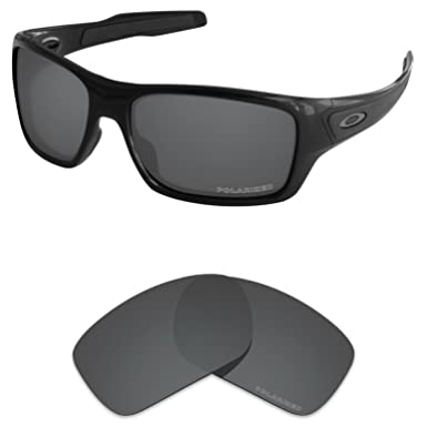 6bb9f84f99a8b Tintart Performance Lenses Compatible with Oakley Turbine Polarized Etched-Carbon  Black