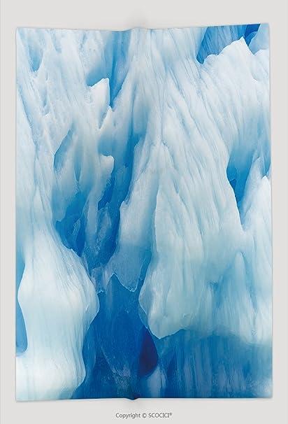 Custom manta hielo estructura textura hielo cueva de glaciar Perito Moreno El Calafate Patagonia Argentina 572438038