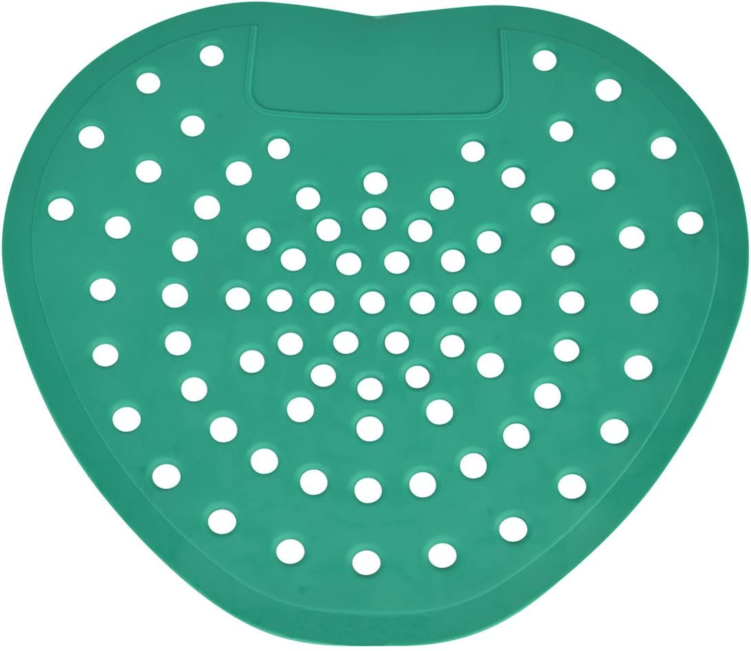 Urinal Screen Deodorizer by ScentBon 7007, Green Apple Fragrance, Green, Pack of 12