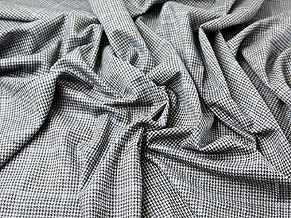 Tricot Tissu 100/% Laine Mérinos Carreaux Écossais Motif 3 Couleurs au mètre