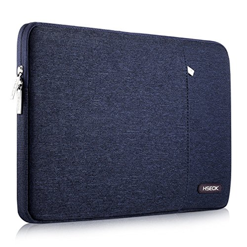 HSEOK 15-15.4 Inch Laptop Case Sleeve, Environmental-Friendly Spill-Resistant Laptop Case for New MacBook Pro 15.4-Inch A1707, XPS 15, Aspire R14 and More, Blue