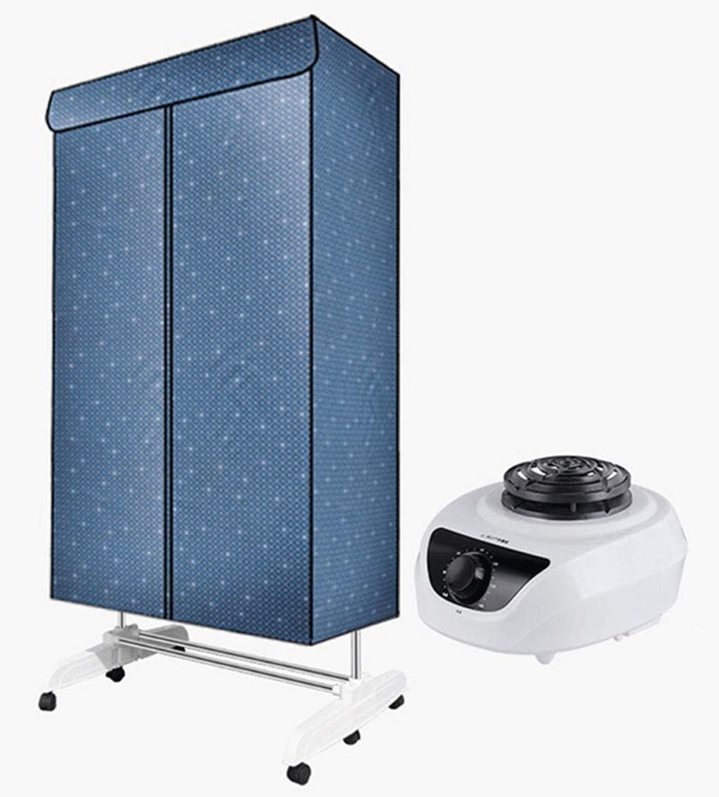 Secadoras de Ropa Eléctrica de 3 Niveles Inteligente Temporización Automática Silencio Secado Rápido Airer Calentado Carga 30 KG Ahorro De Energía 1500 W