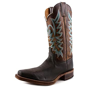 Amazon.com  Justin Women s Guthrie Chocolate Cowgirl Boot Square Toe ... c4796d8b57