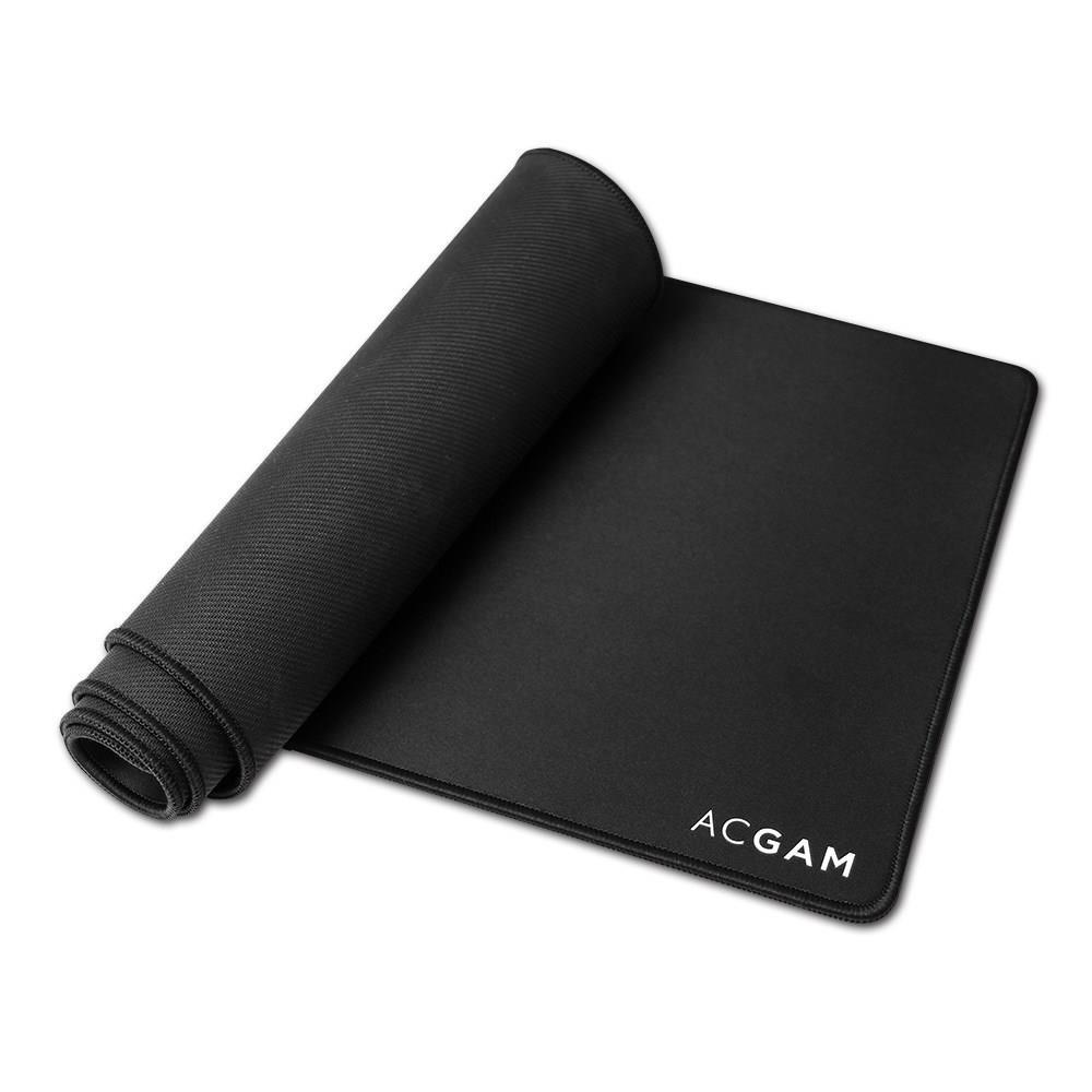 900 mm x 300 mm x 4 mm Tapis de Souris /étanche avec Base en Caoutchouc antid/érapante Compatible avec Les Souris Laser et optiques ACGAM P07 Tapis de Souris de Jeu XXL Large Mousepad Noire
