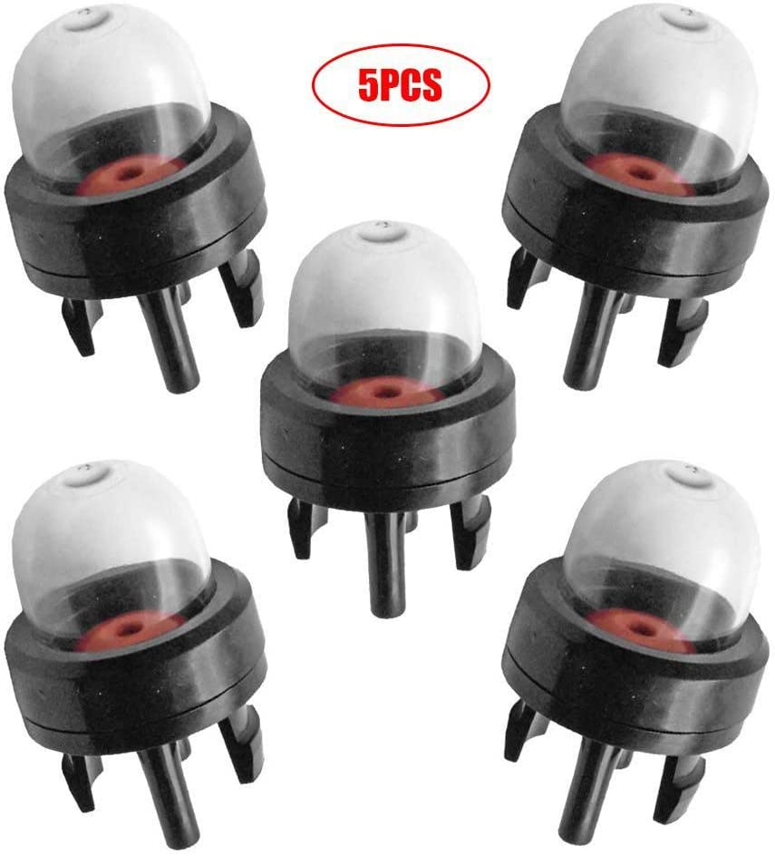 Snap in Primer Light Bulb Pump for stihl//Weed Eater//McCulloch//ryobi Echo//String Trimmer Dokfin 5pcs g/én/éral Snap-in Primer Light Bulb
