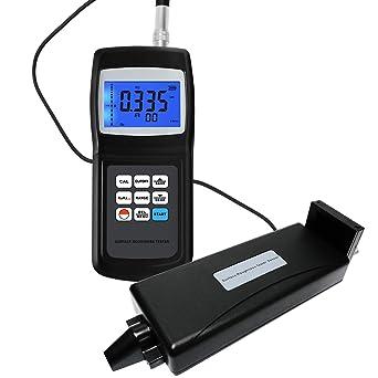 Digital Surface Roughness Tester Meter Gauge LCD Display 4 Parameters Ra Rq Rz Rt Data Memory 10um Profilometer w/Separate Sensor: Amazon.com: Industrial & ...