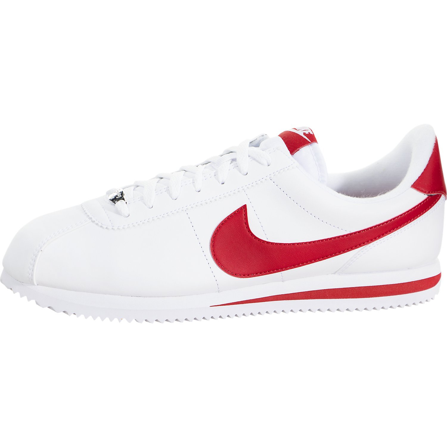 factory authentic 01e5d c3f61 Galleon - Nike Mens Cortez Basic Leather Casual Shoe White Red 819719-101 12