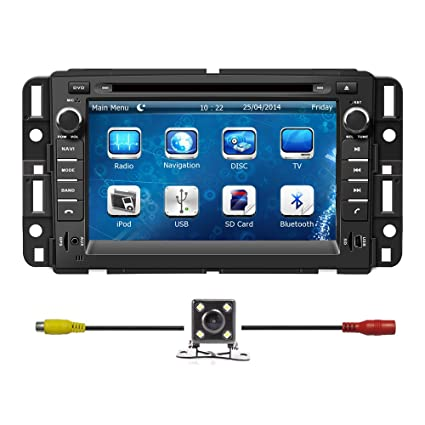 amazon com bluelotus for gmc yukon 2007 2014 gmc acadia 2007 2012 rh amazon com 2010 GMC Acadia Inside GMC Acadia DVD System