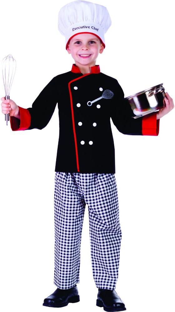 Dress Up America Disfraz de Cocinero Chico Ejecutivo