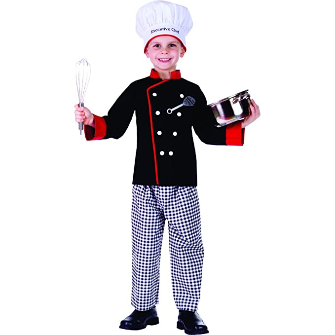 Dress Up America Disfraz de Cocinero Chico Ejecutivo