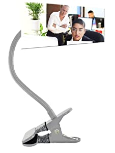 3 Colors to Choose from, Stronger and More Durable Clip On Desk Mirror, Cubicle Mirror for Office Security, Rear View Computer Monitor Mirror, Office Mirror to See Behind You, Convex Desktop Mirror