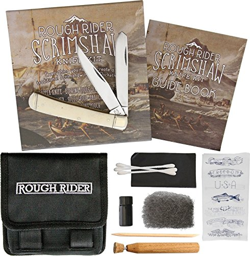 Rough Rider Scrimshaw Set RR1579