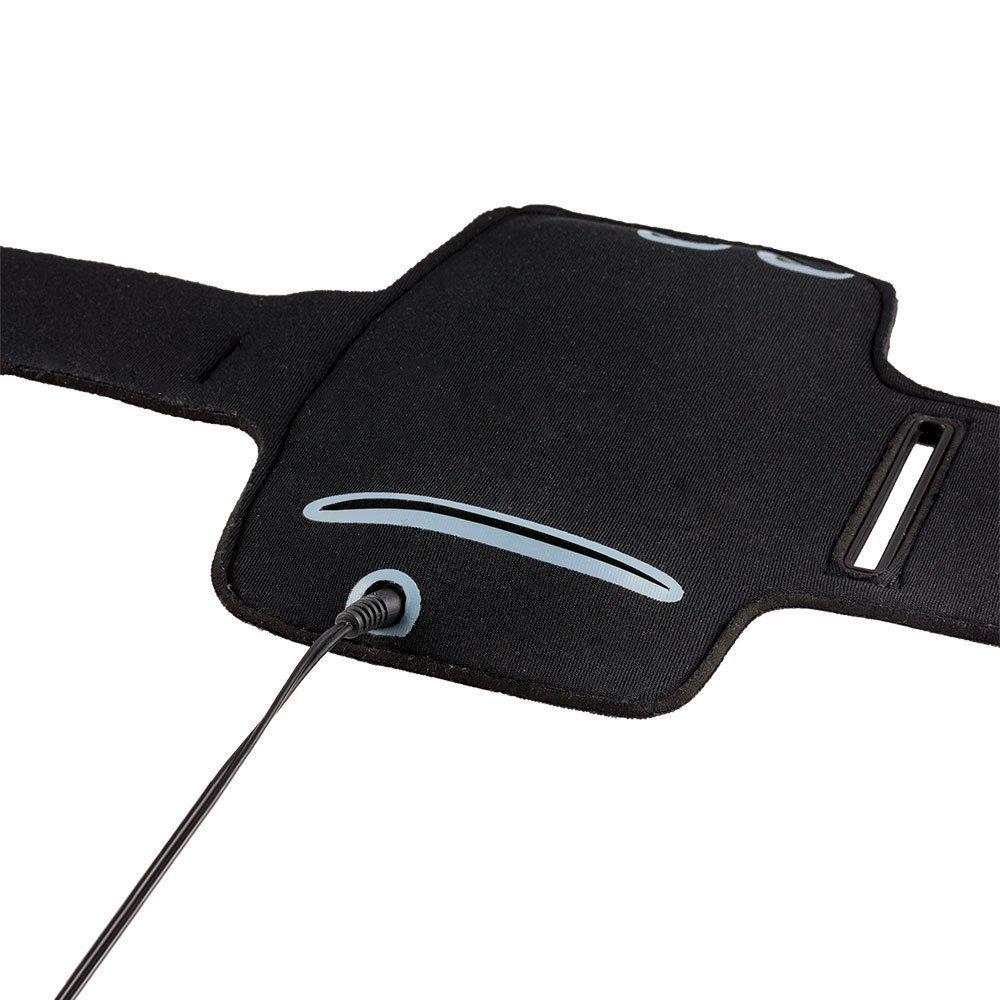 Negro tel/éfono Inteligente Actividad Deportiva MP-ES LG Q6 Brazalete Deportivo de Neopreno para tel/éfono m/óvil Footing Hiking Running Scratch Ajustable