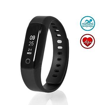 Sharon Montre Connectée avec Cardio Intégré Fitness Tracker dActivité Pédomètre Rythme Cardiaque Continue et