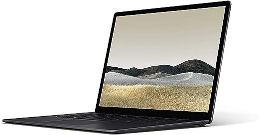 لاب توب مايكروسوفت سيرفس 3 - شاشة تعمل باللمس 15 بوصة، معالج ايه ام دي رايزن 5 نسخة مايكروسوفت سيرفس، 256 جيجابايت، 16 جيجابايت رام، ويندوز - اسود مات