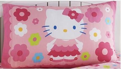 Amazon.com: Hello Kitty Reversible Funda de almohada 20 x 30 ...