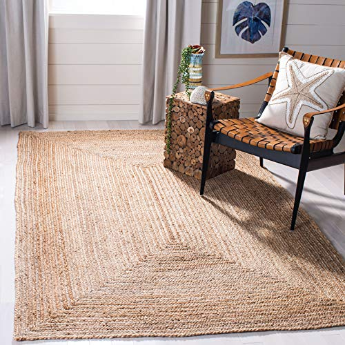 Safavieh Cape Cod Collection CAP252A Hand Woven Natural Jute Area Rug (5' x 8') (Barn Pottery Foyer Ideas)