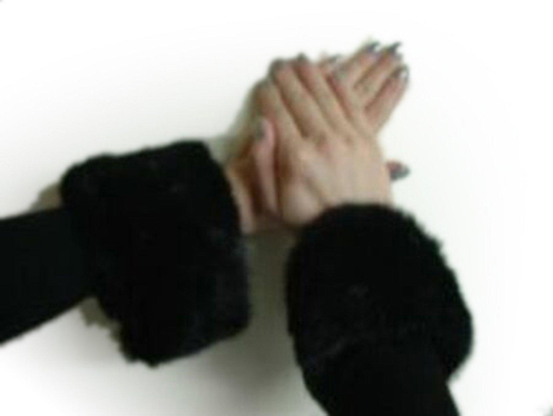Ranch Mink Cuffs w/Velcro Closure